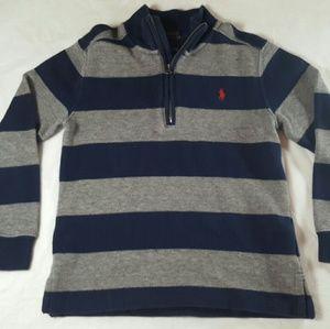 Little boys Polo Ralph Lauren half zip sweater SZ6
